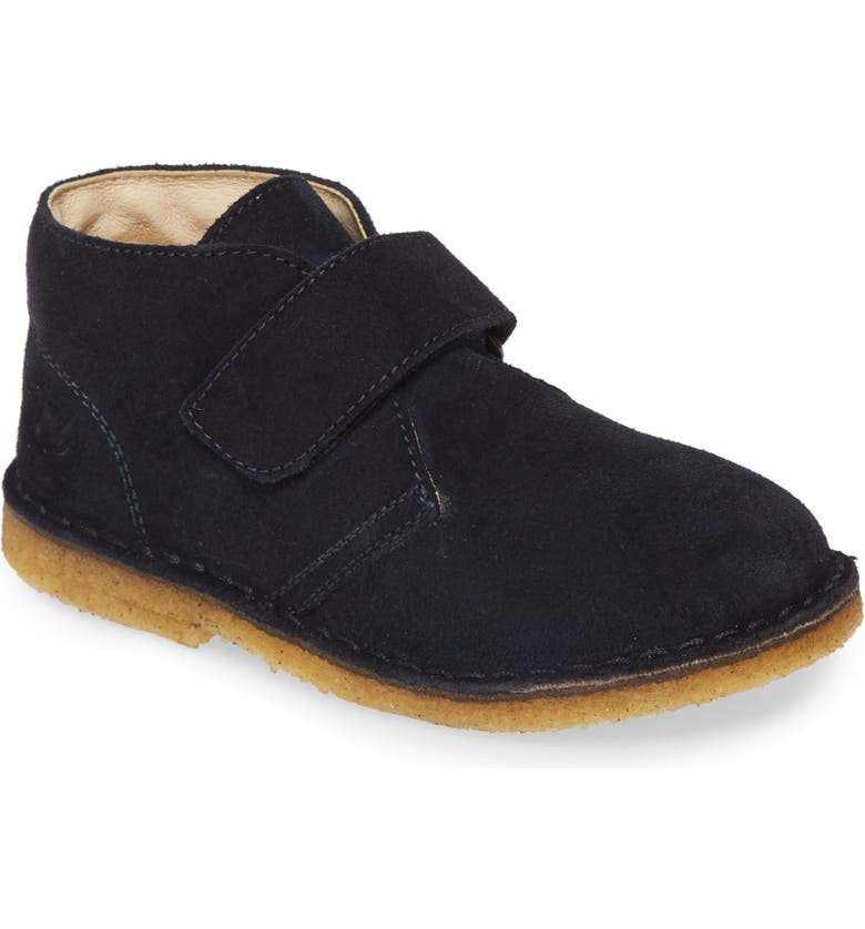 NATURINO Chukka Boot, Main, color, BLUE SUEDE LEATHER