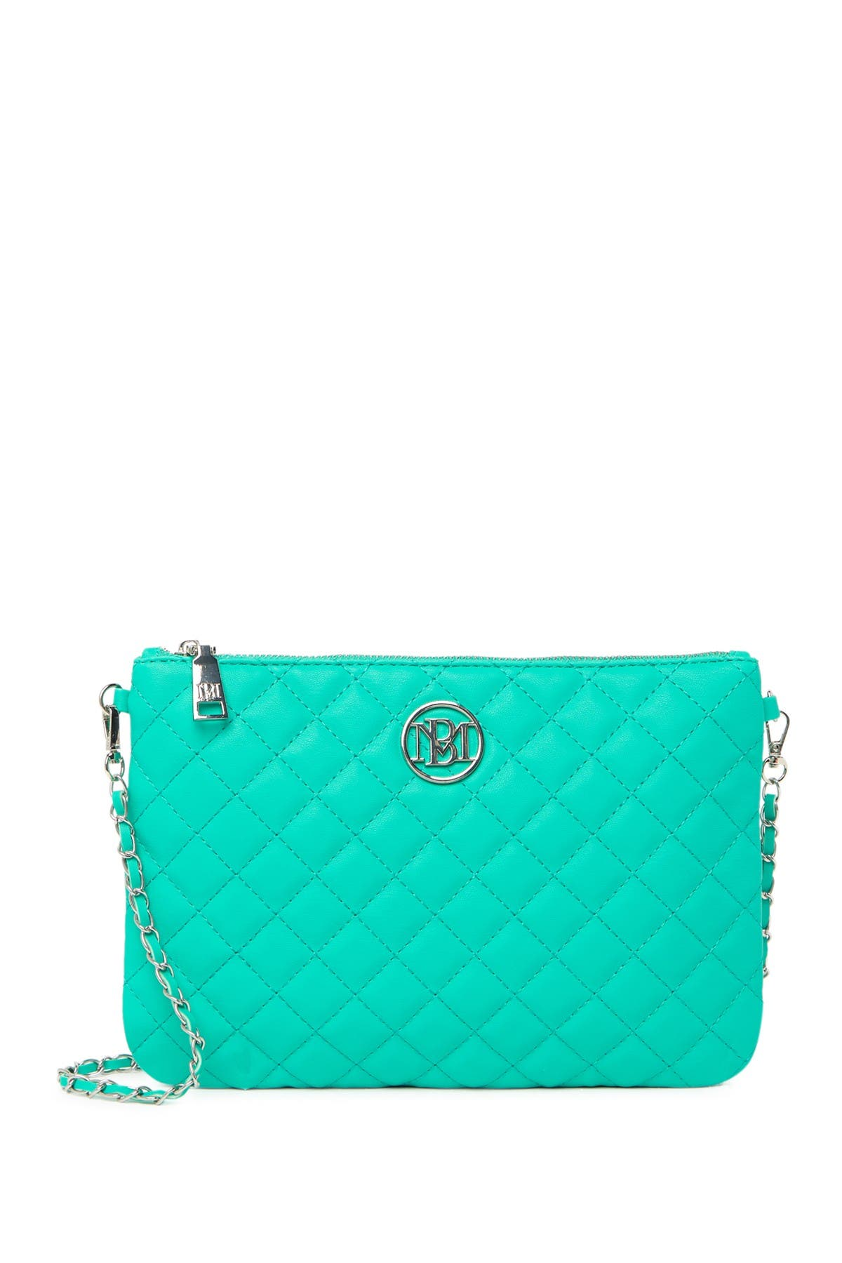 Image of Badgley Mischka Quilted Crossbody Bag