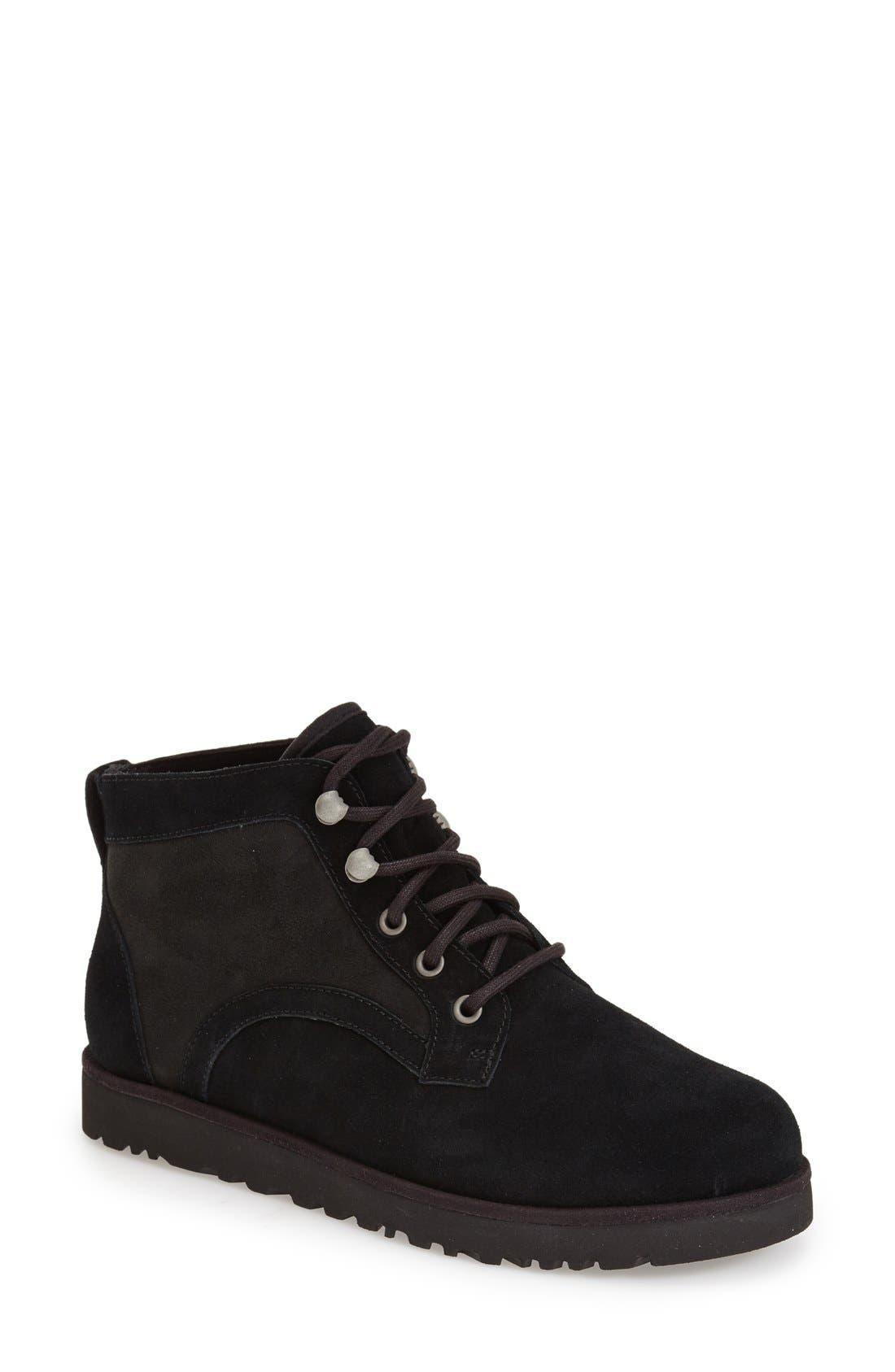 ,                             Bethany - Classic Slim<sup>™</sup> Water Resistant Chukka Boot,                             Main thumbnail 4, color,                             001