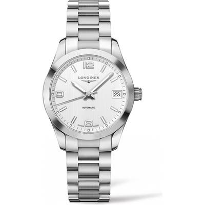 Longines Conquest Classic Automatic Bracelet Watch,