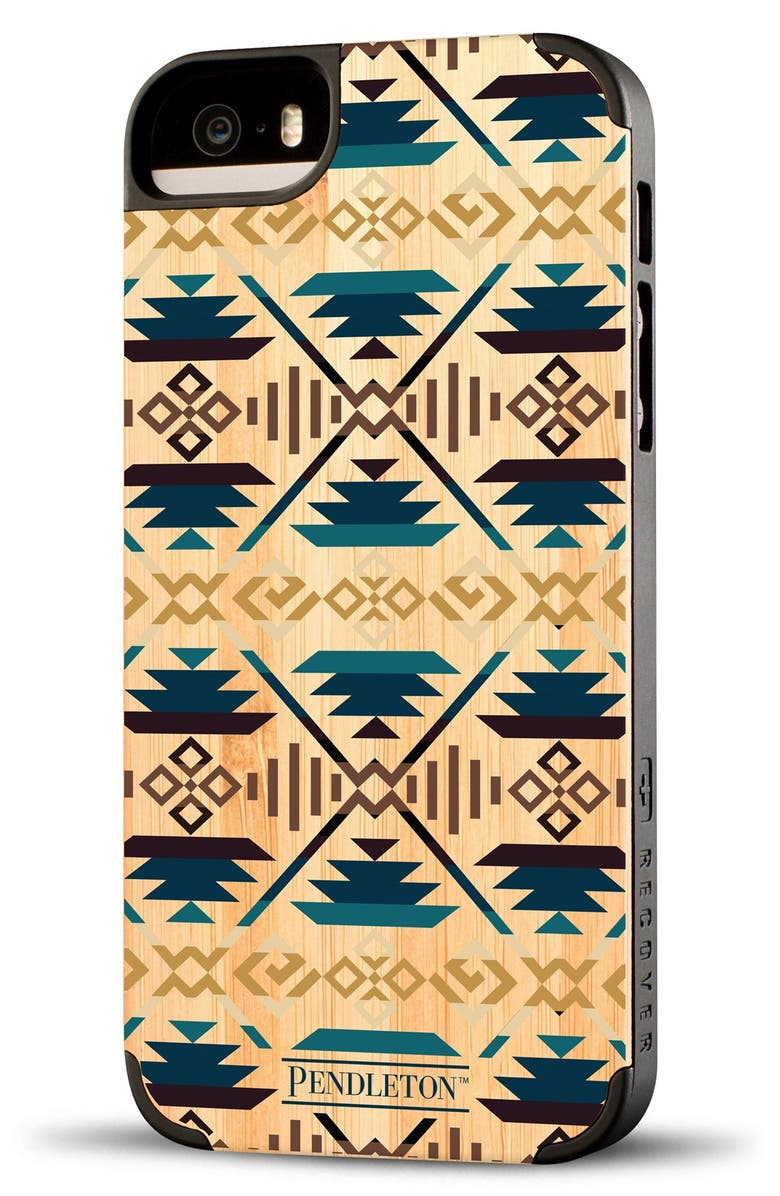 Recover 'Pendleton' Bamboo iPhone 5 & 5S Case | Nordstrom