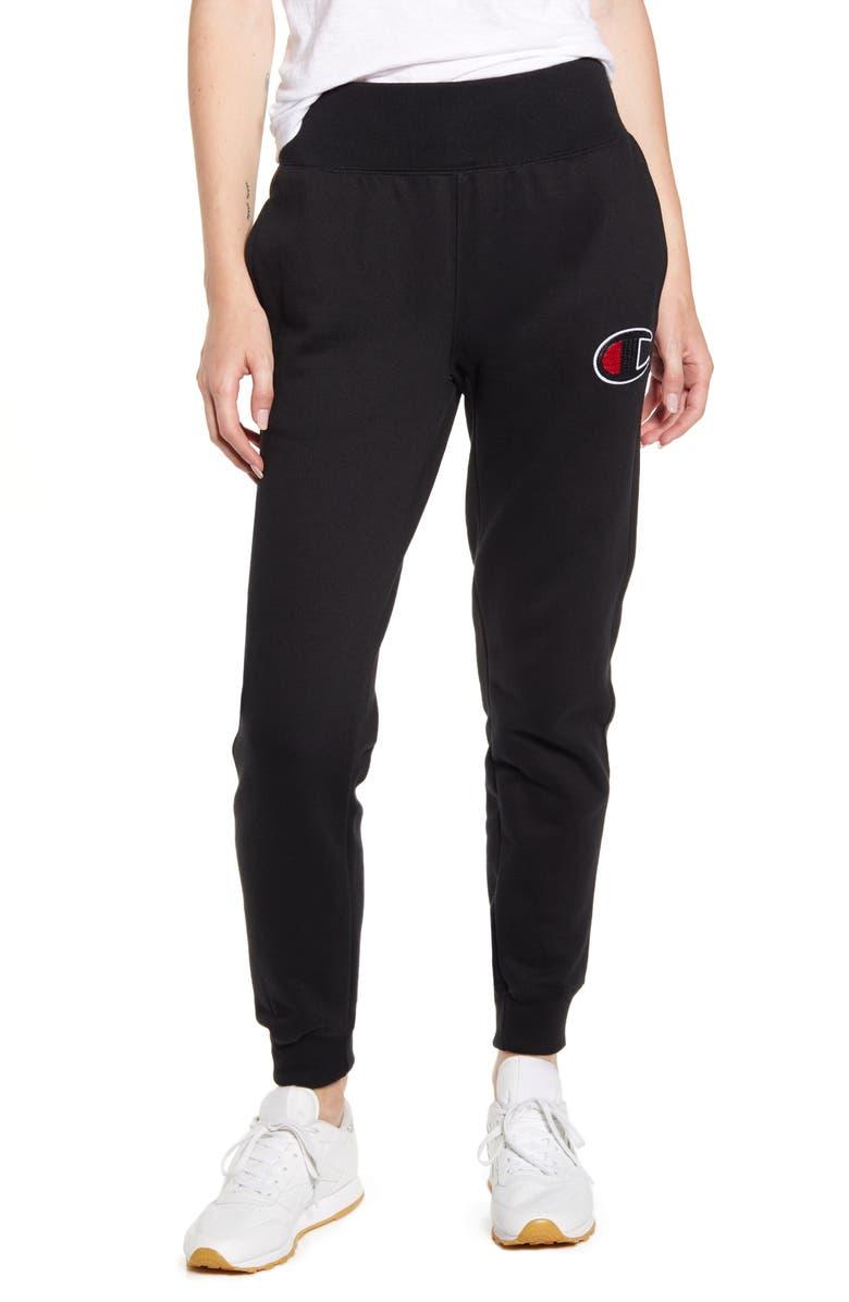 CHAMPION Jogger Pants, Main, color, BLACK