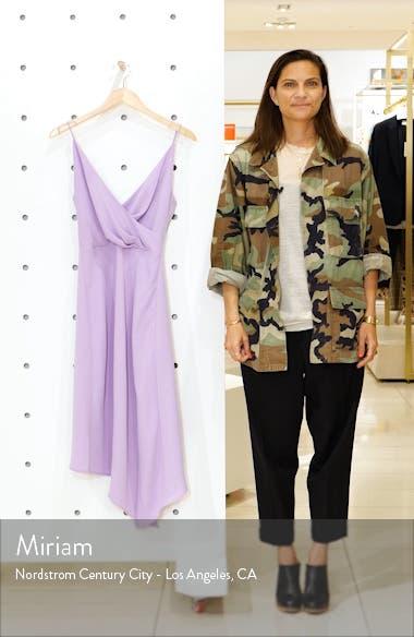 Mae Asymmetrical Hem Midi Dress, sales video thumbnail