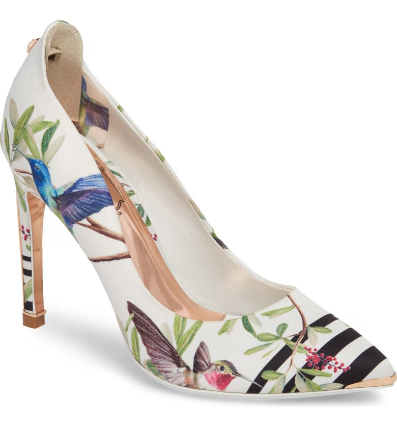 TED BAKER LONDON Hallden Pump, Main, color, 100