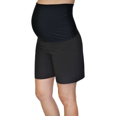 Mermaid Maternity Foldover Maternity Board Shorts
