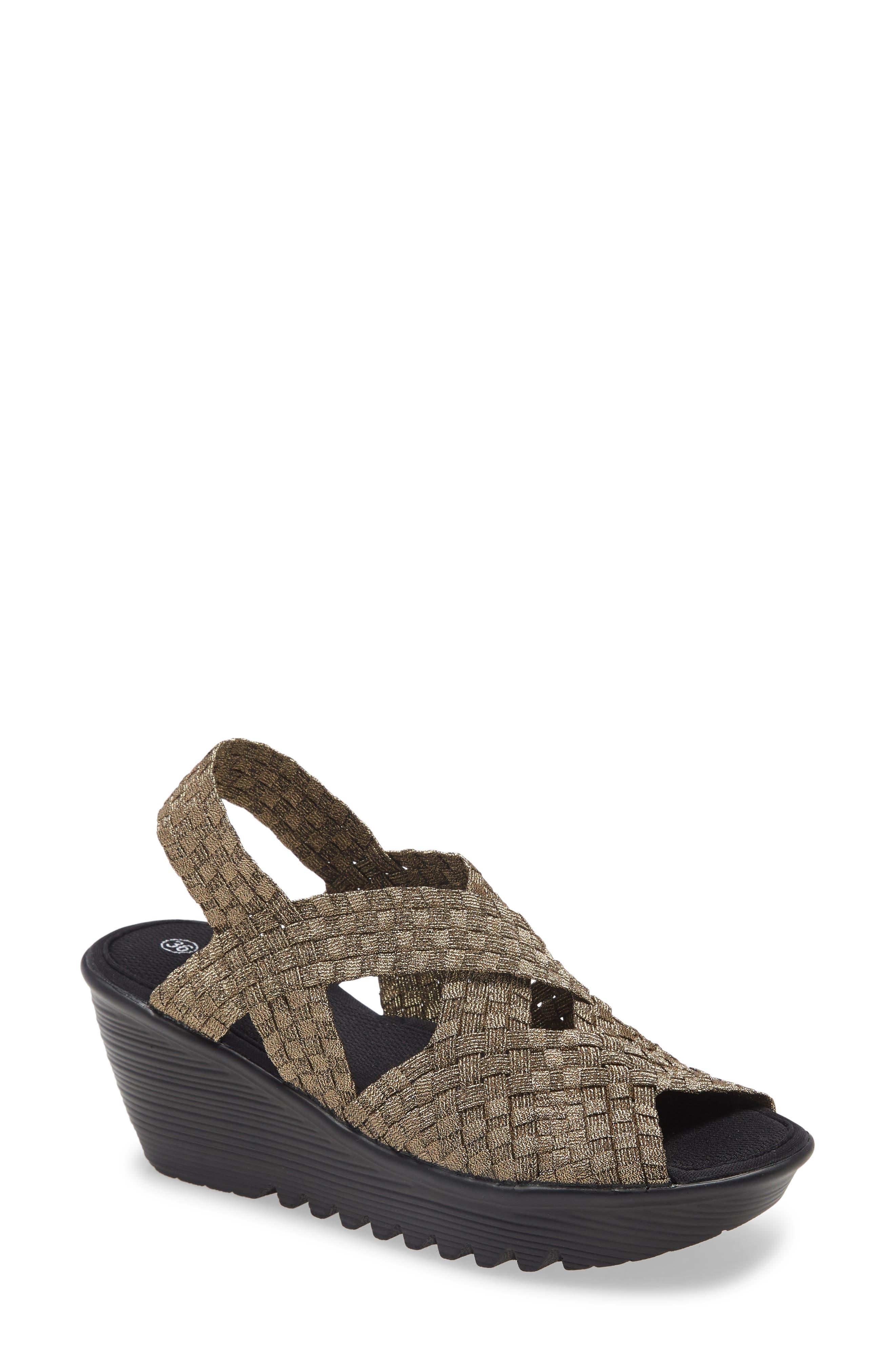 . Brighten Wedge Slingback Sandal