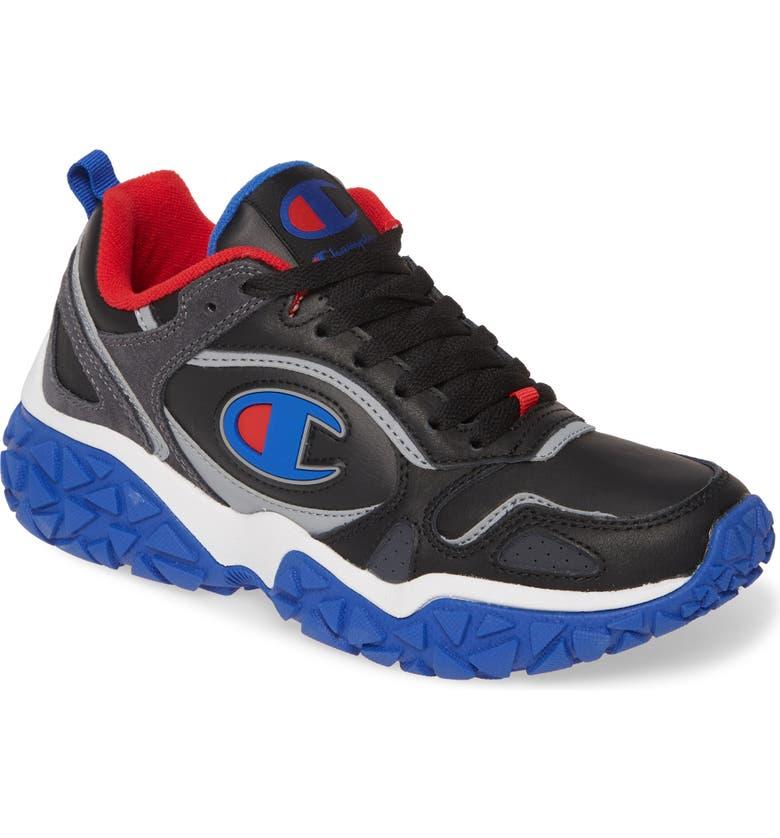 CHAMPION Tank Track Sneaker, Main, color, BLACK/ STEALTH