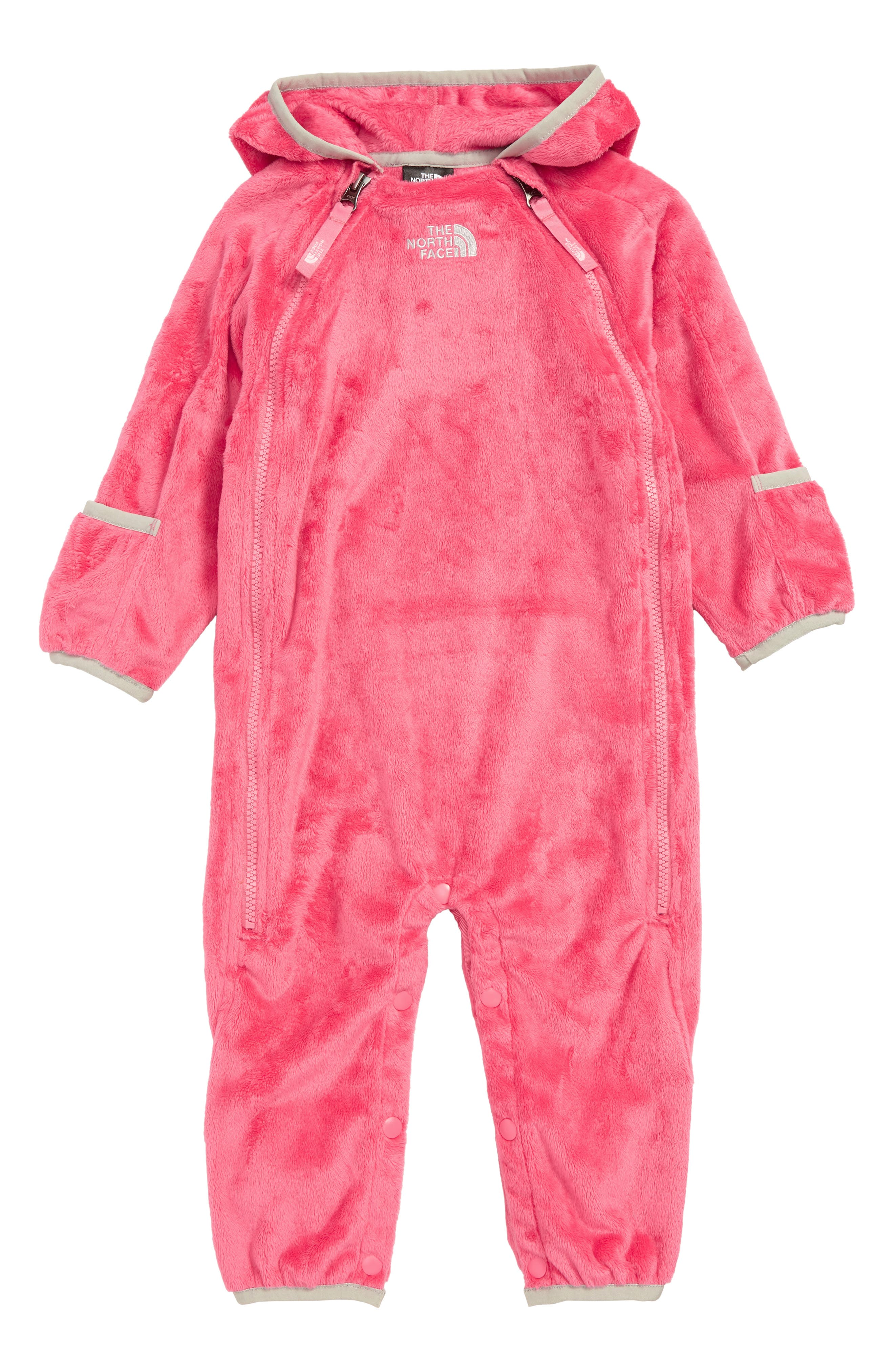 Infant The North Face Buttery Fleece Bunting Size 1824M  Pink