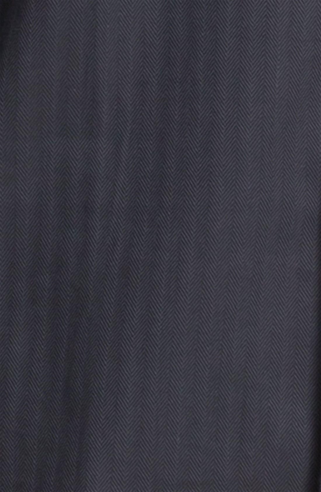 ,                             Herringbone Cotton Pajamas,                             Alternate thumbnail 3, color,                             030