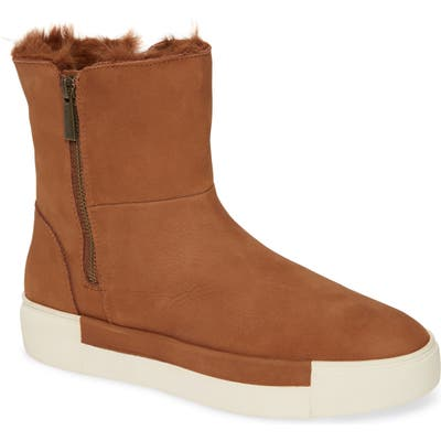 Jslides Victory Double Zip Boot- Brown