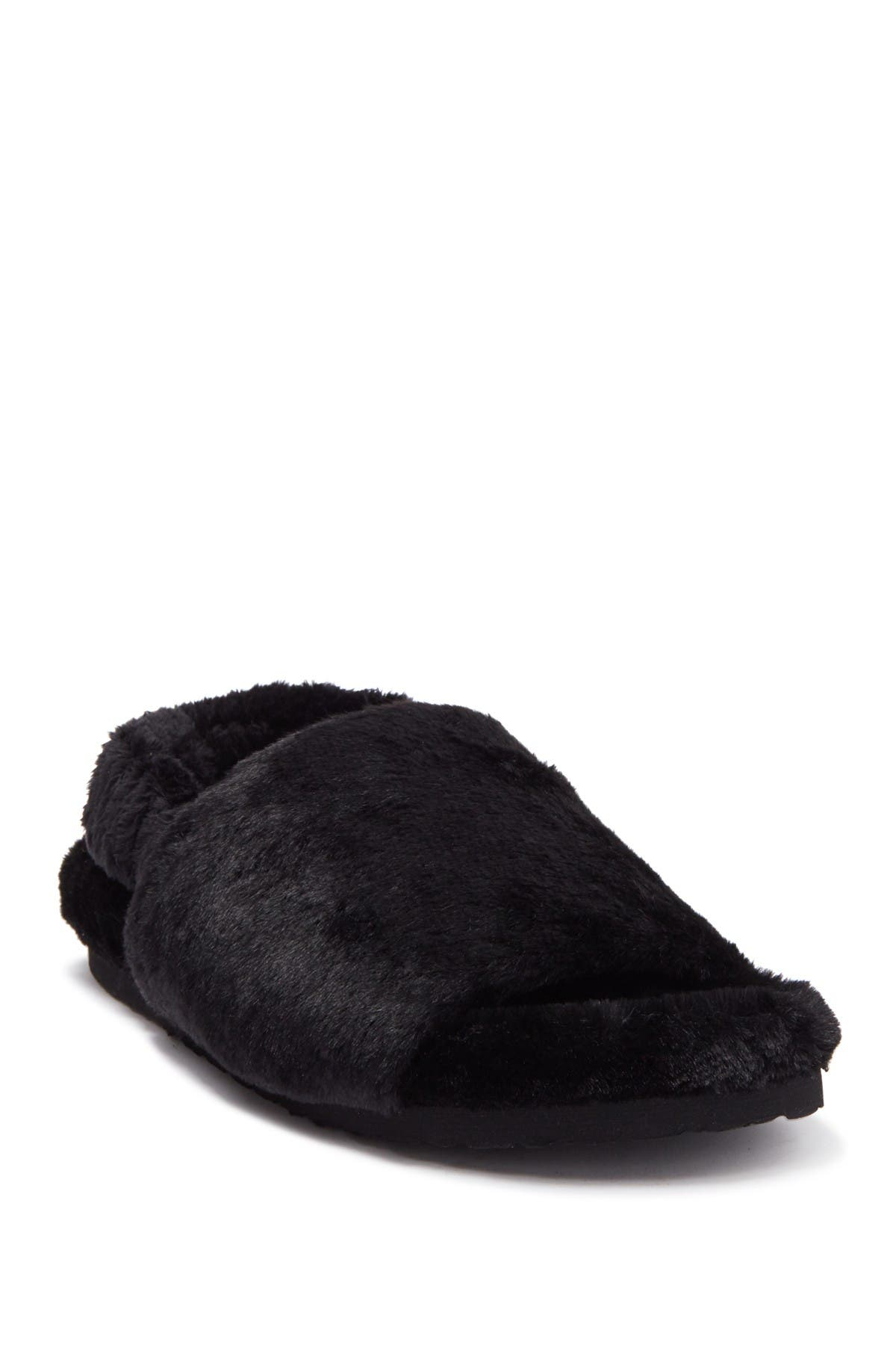 Image of Steve Madden Fidget Faux Fur Slipper