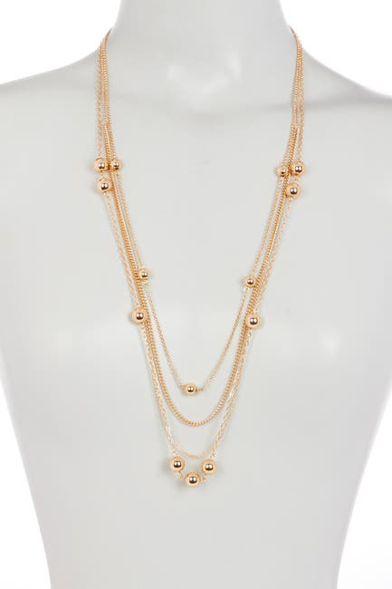 Image of 14th & Union Bead Accent Station Layered Necklace