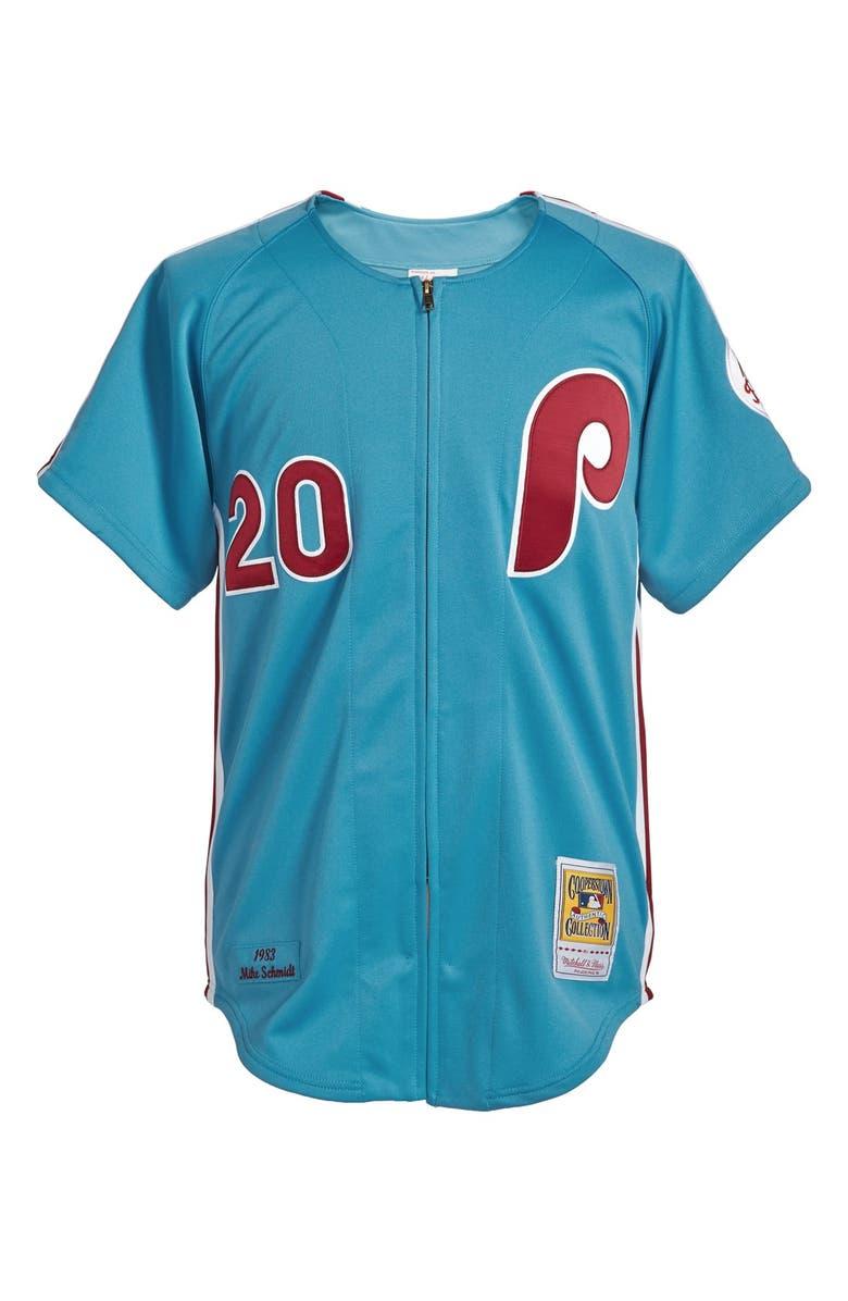 cheaper 06970 9ca6c Mitchell & Ness 'Philadelphia Phillies 1983 - Mike Schmidt ...