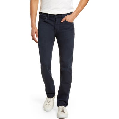 34 Heritage Courage Straight Leg Jeans, Blue