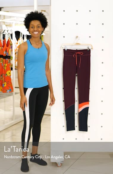 Maroon Retro Yoga Pants, sales video thumbnail