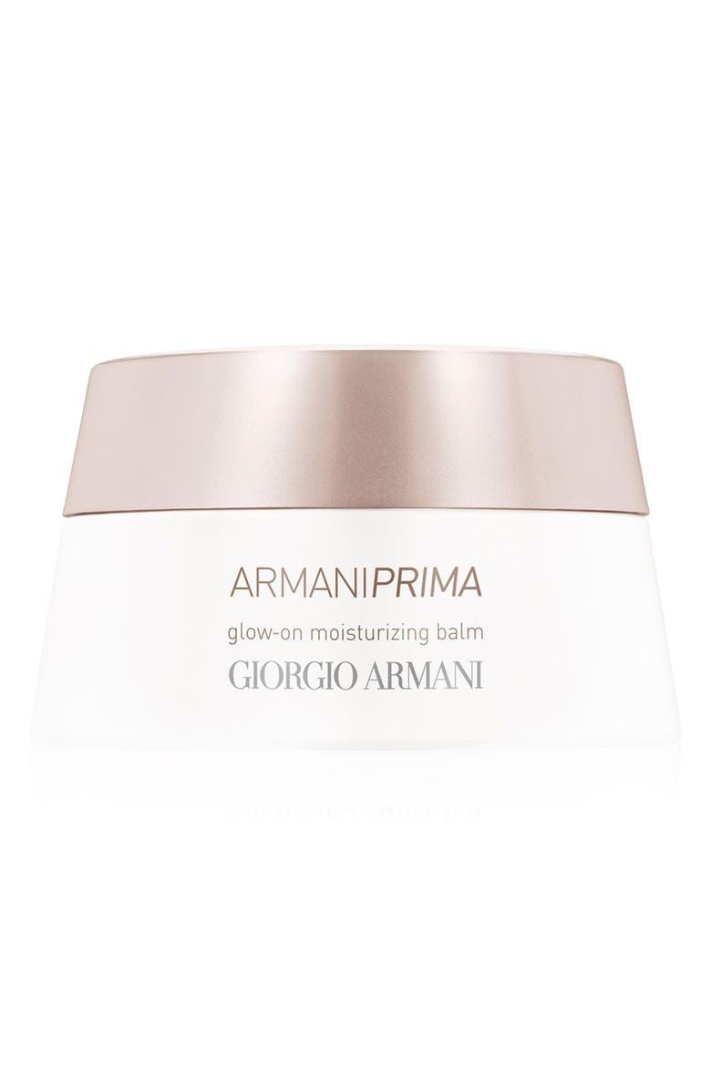 GIORGIO ARMANI Prima Glow-On Moisturizing Light Balm, Main, color, 000
