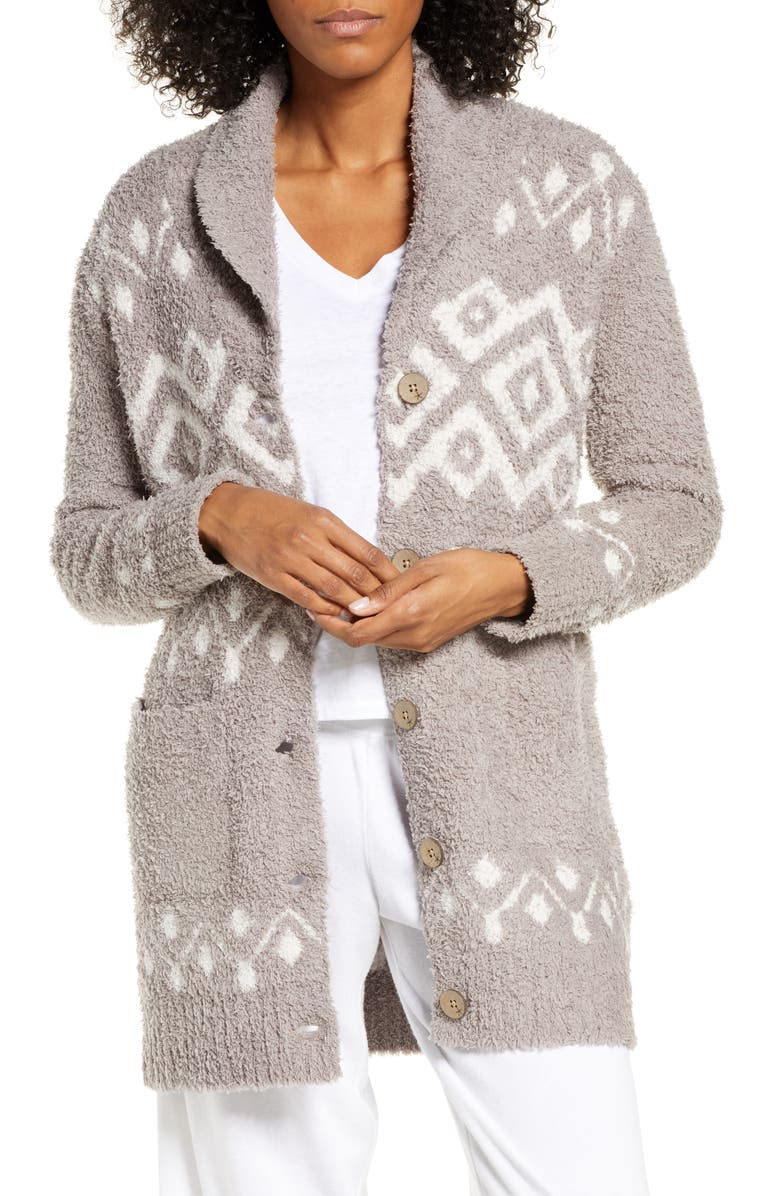 BAREFOOT DREAMS<SUP>®</SUP> CozyChic<sup>™</sup> Topanga Cardigan, Main, color, BEACH ROCK MULTI