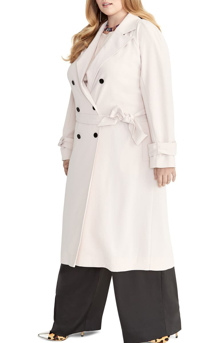 Rachel Roy Tamar Trench Coat Plus Size