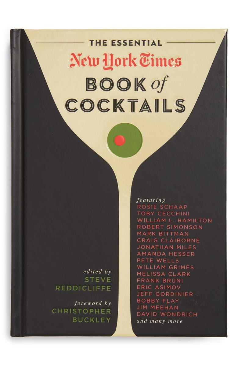 SIMON AND SCHUSTER The Essential New York Times Book of Cocktails Recipe Book, Main, color, 001
