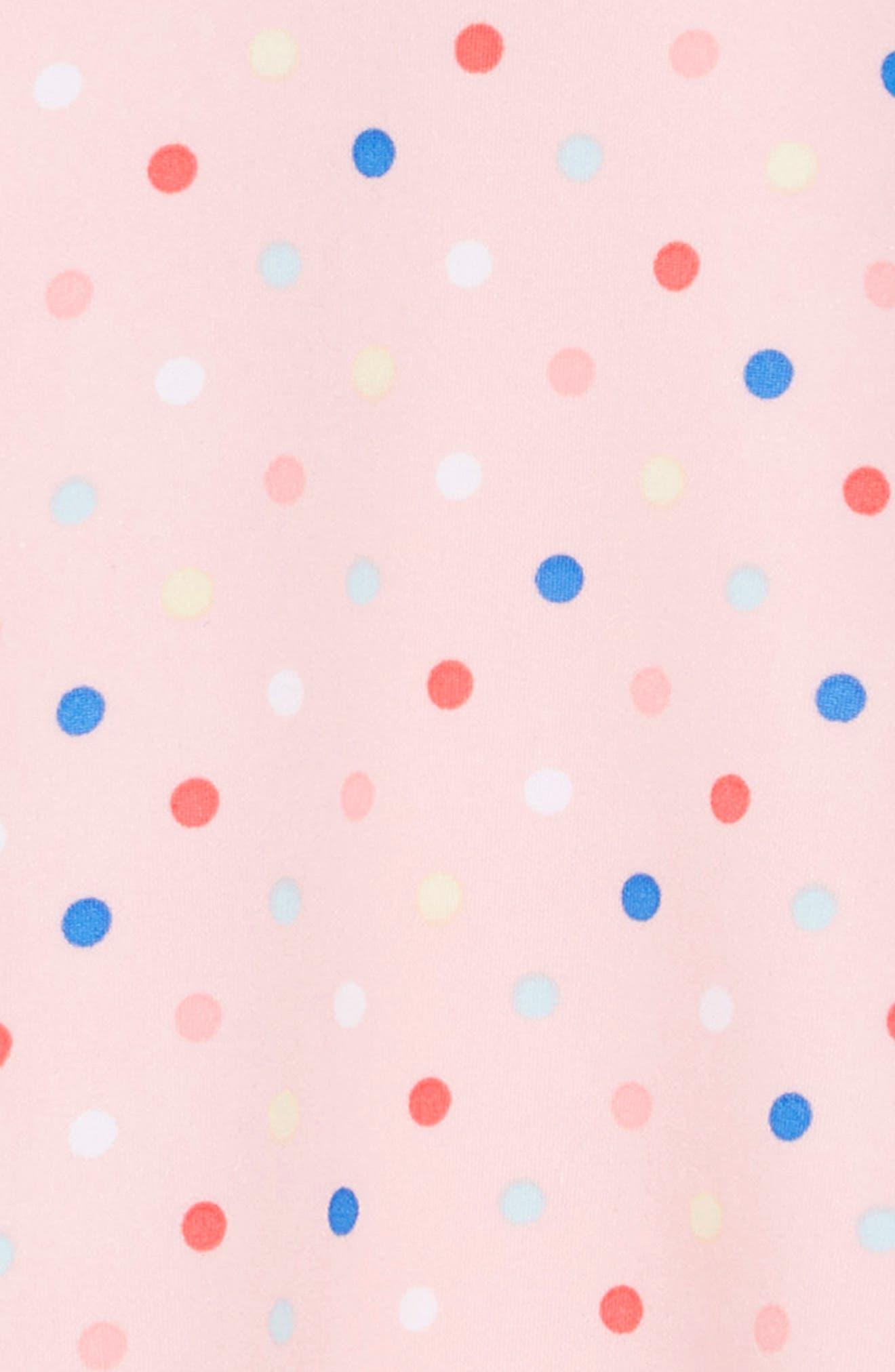 ,                             Ruffle Polka Dot Dress,                             Alternate thumbnail 3, color,                             693