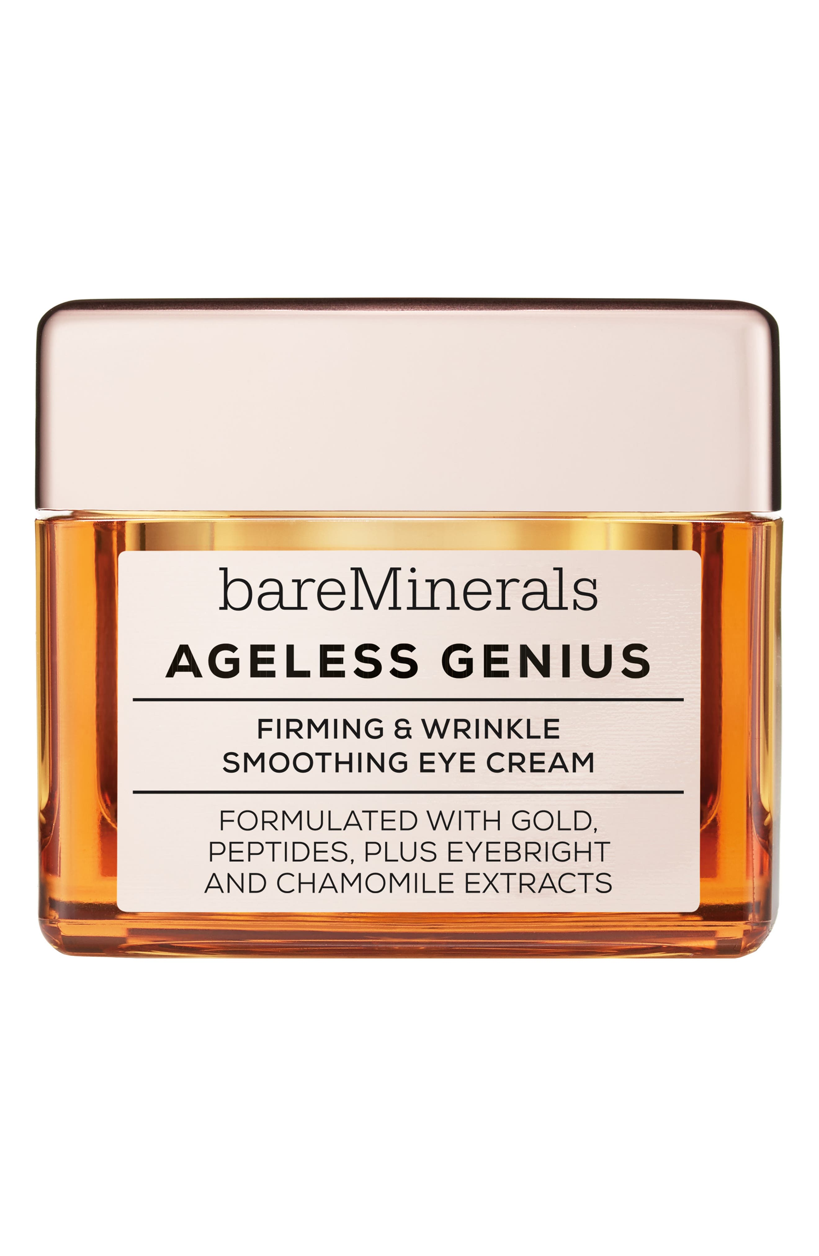 Ageless Genius Firming & Wrinkle Smoothing Eye Cream, Main, color, NO COLOR