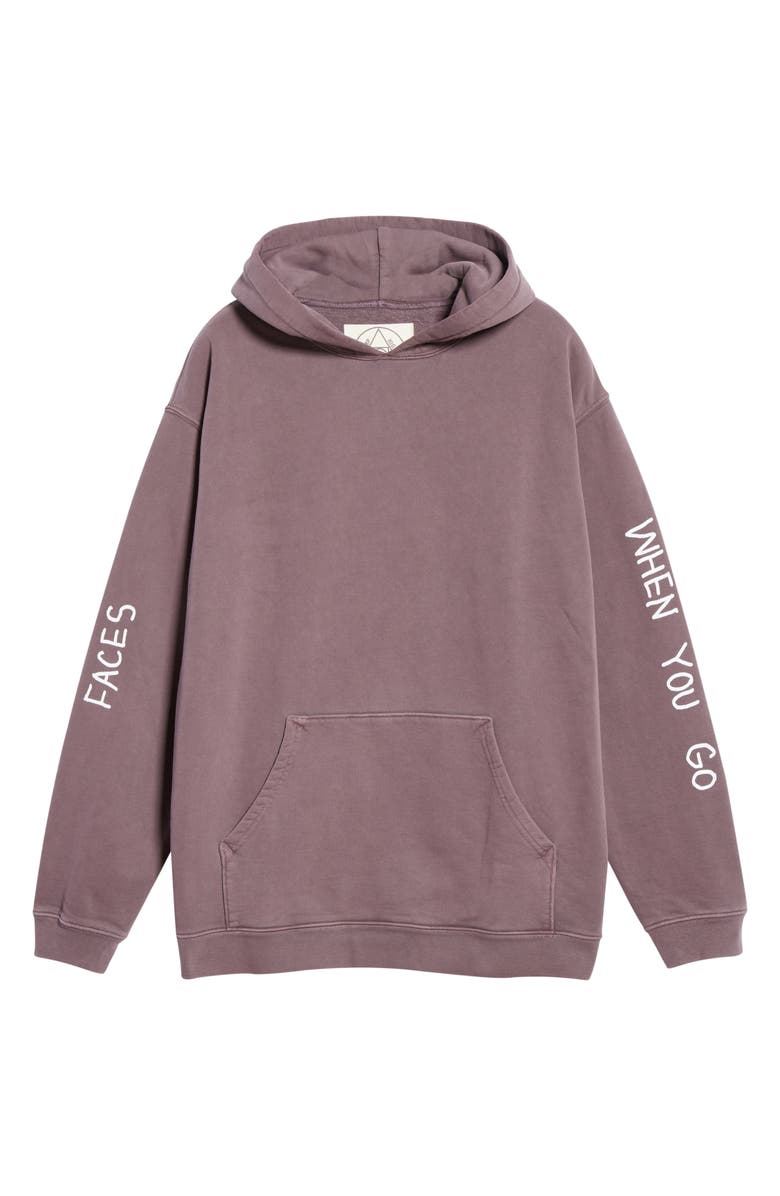 CAMP HIGH Matt McCormick Oversize Hoodie, Main, color, DUSK