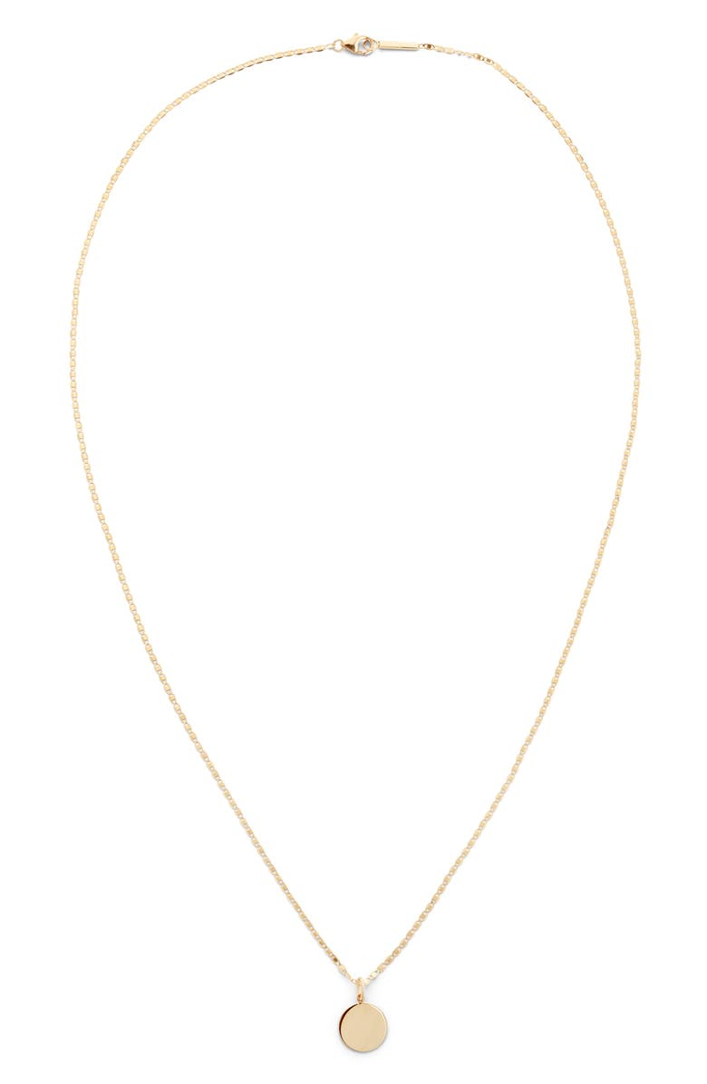 LANA JEWELRY Casino Pendant Necklace, Main, color, YELLOW GOLD