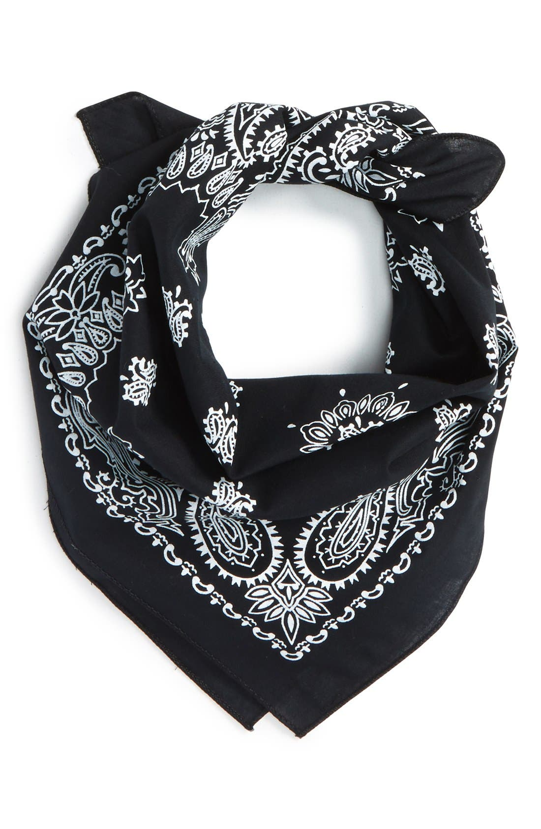 ,                             Cotton Bandana,                             Main thumbnail 1, color,                             001