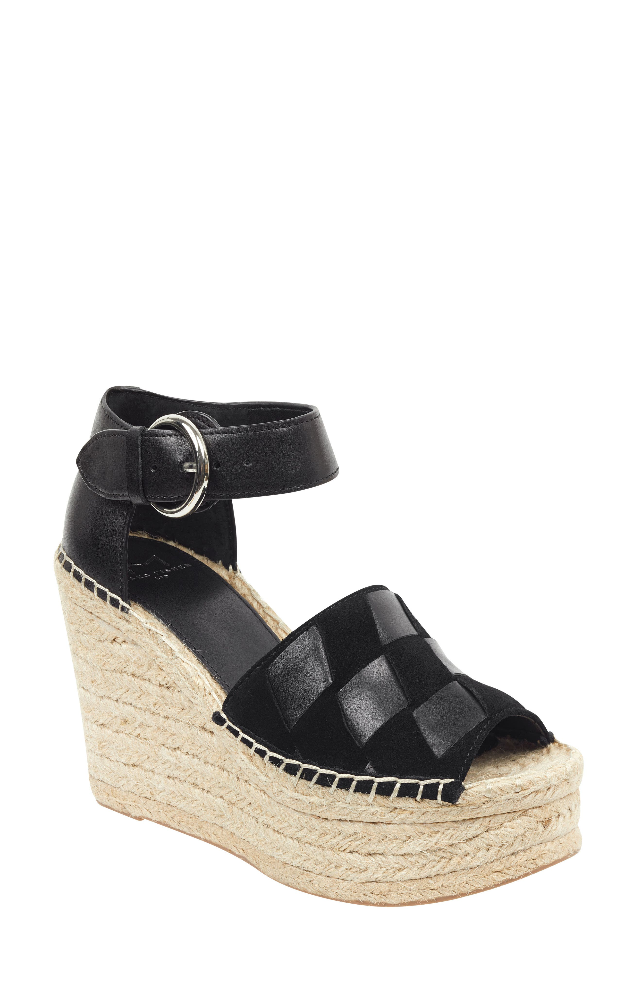 ,                             Adalla Platform Wedge Sandal,                             Main thumbnail 8, color,                             001