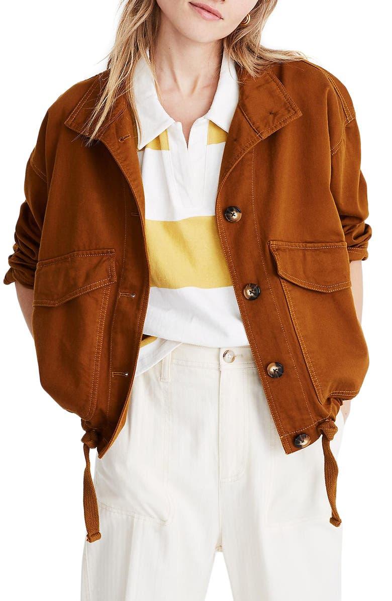 MADEWELL Beachmont Jacket, Main, color, 200