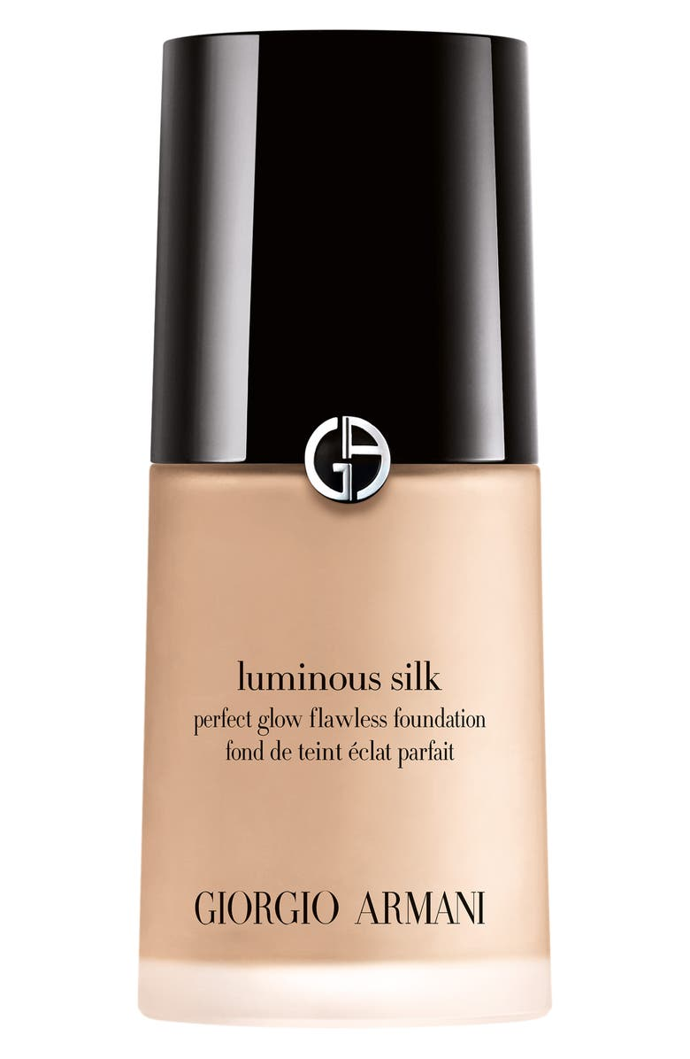 GIORGIO ARMANI Luminous Silk Foundation, Main, color, 02 - FAIR/WARM UNDERTONE