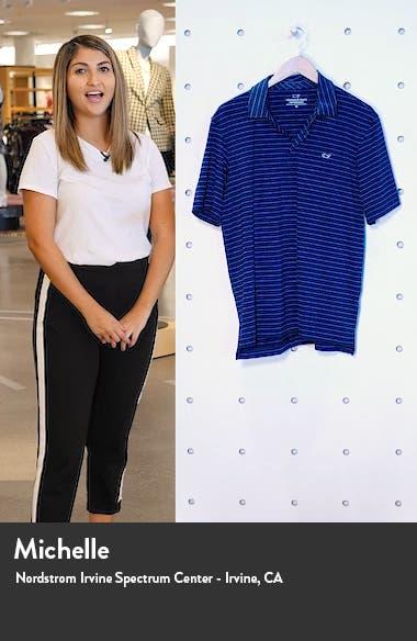 Southwinds Regular Fit Stripe Sankaty Short Sleeve Polo, sales video thumbnail