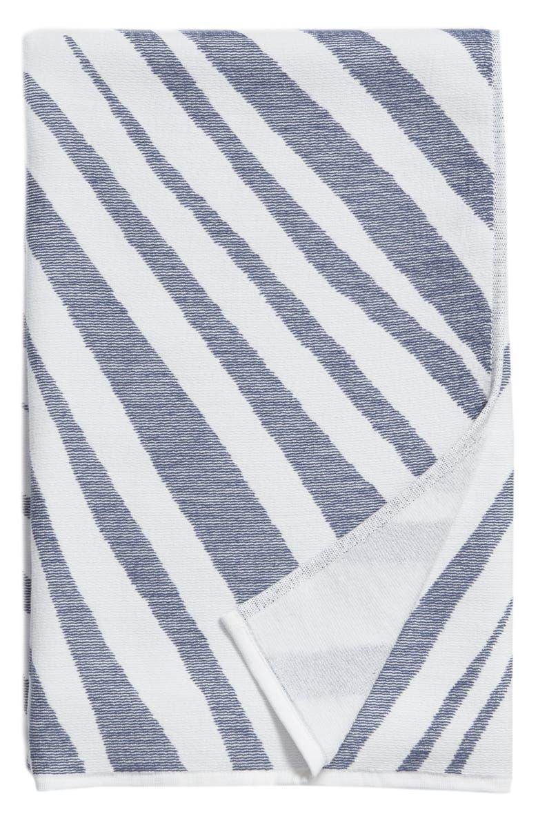 TREASURE & BOND Palm Beach Towel, Main, color, BLUE MYSTIQUE MULTI