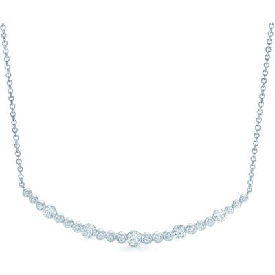 Kwiat Starry Night Curved Bar Diamond Necklace