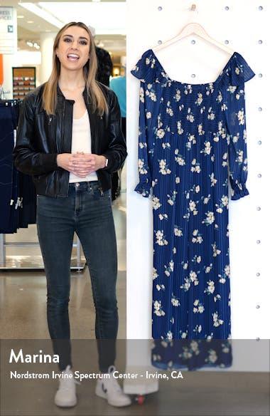 Los Feliz Long Sleeve Floral Jumpsuit, sales video thumbnail