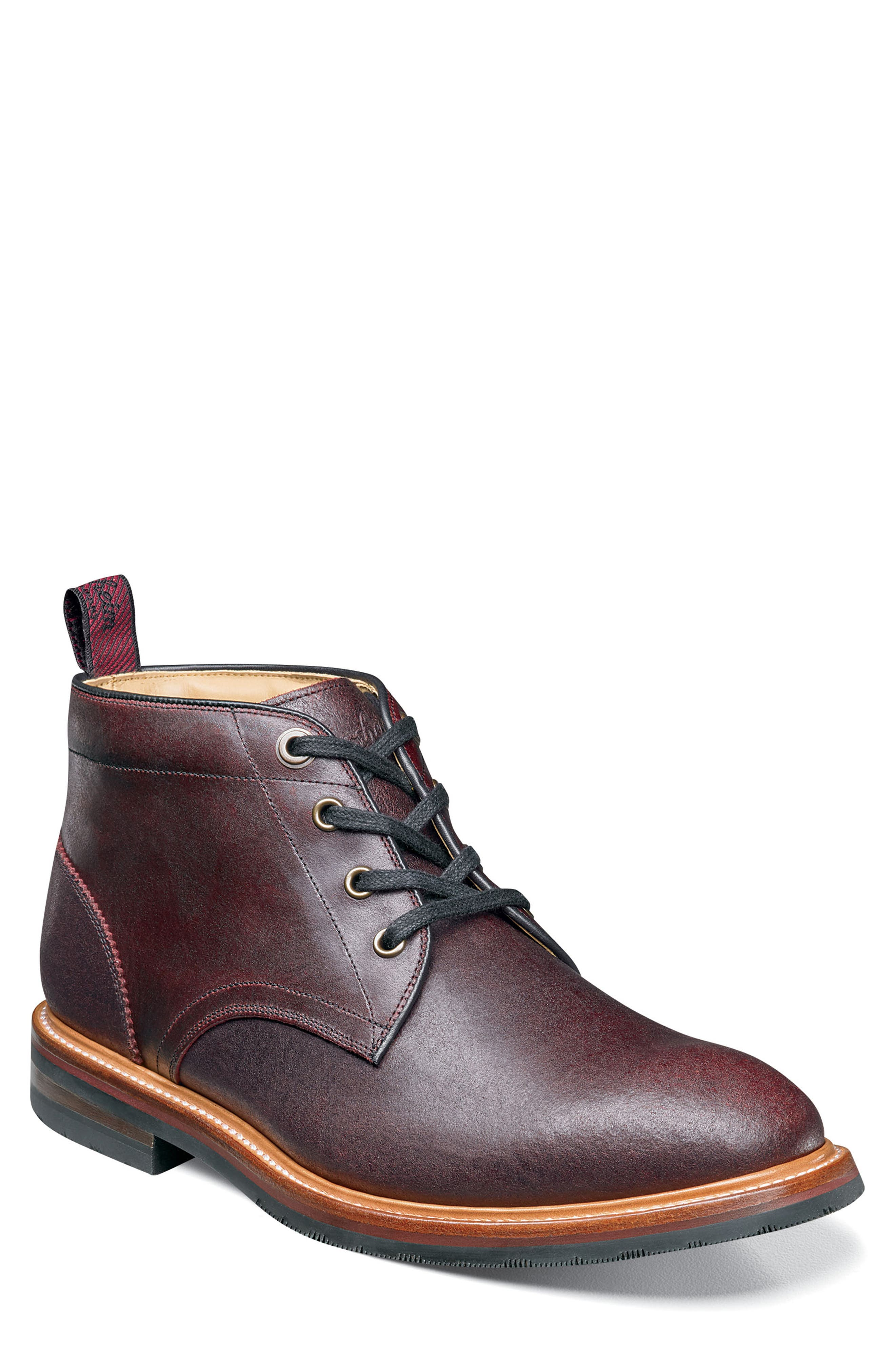 Florsheim Foundry Leather Boot, Burgundy