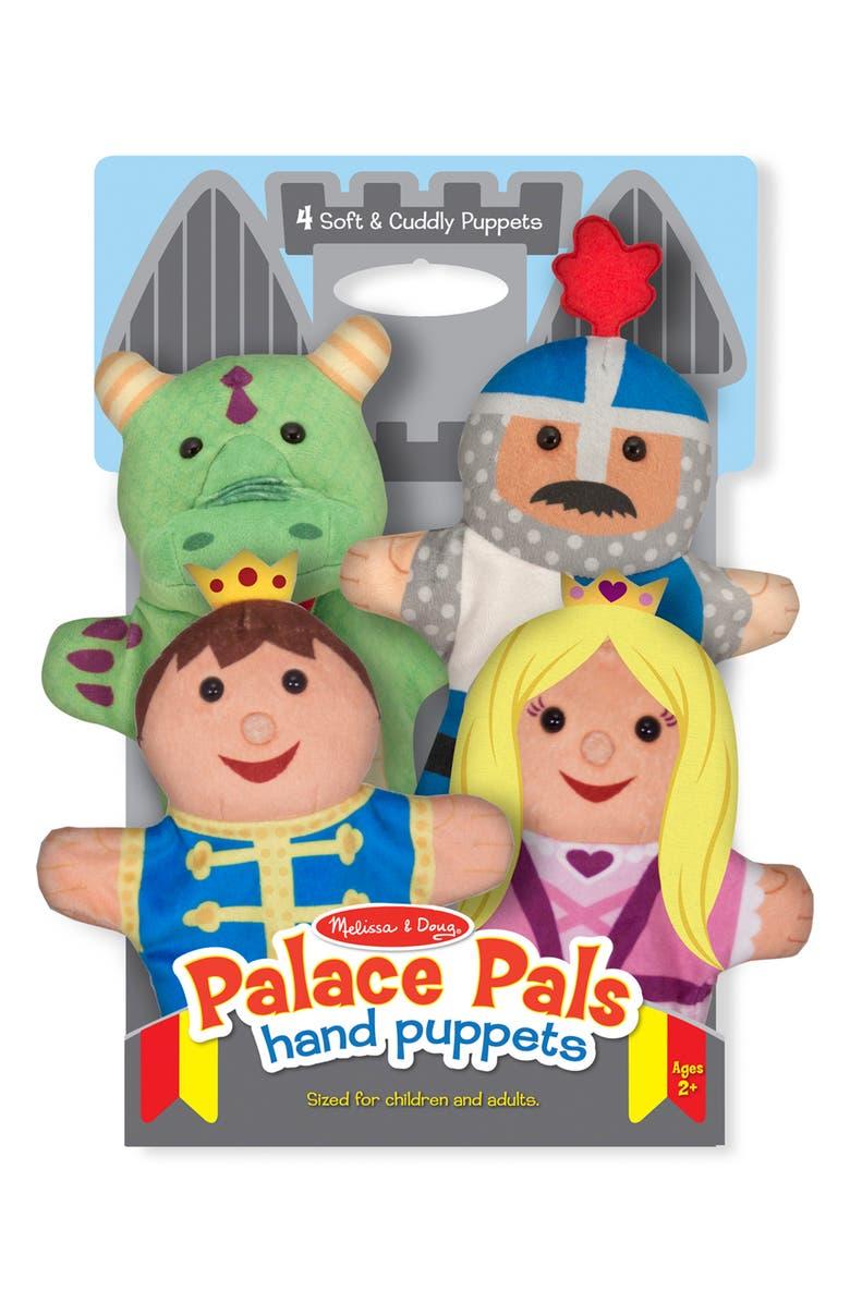 MELISSA & DOUG Tabletop Puppet Theatre & Puppets Toy Set, Main, color, MULTI