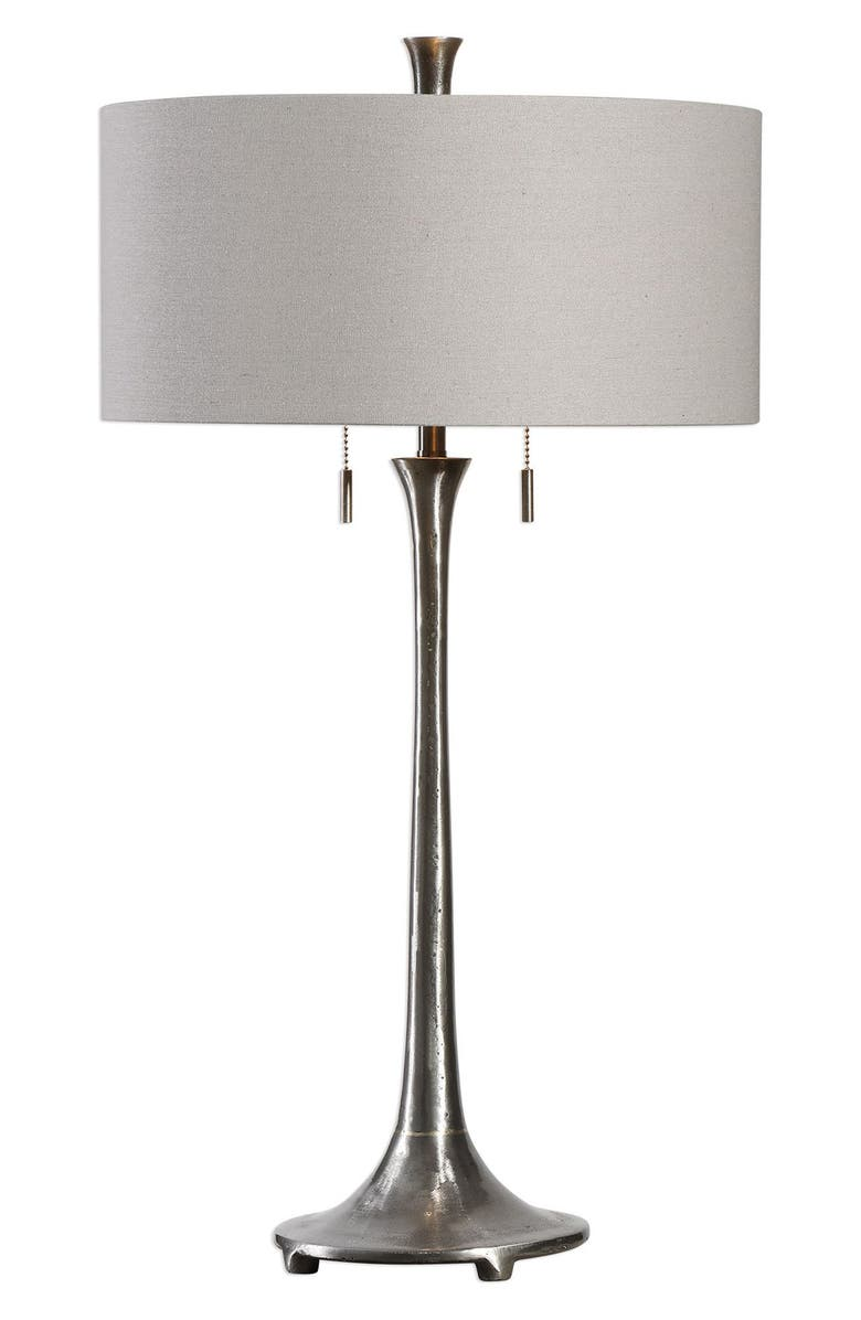 UTTERMOST Aliso Table Lamp, Main, color, BLACK/ GREY