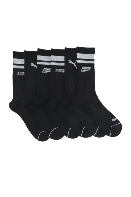Image of PUMA Half Terry Athletic Crew Socks - Pack of 6