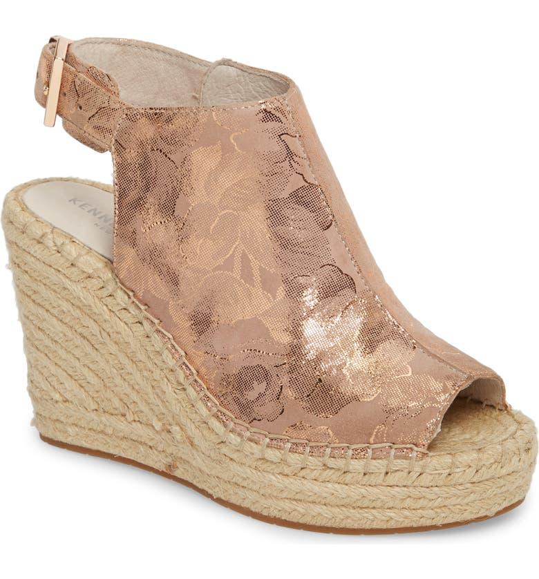 KENNETH COLE NEW YORK 'Olivia' Wedge Sandal, Main, color, 659