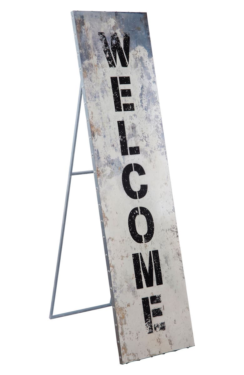 Foreside Welcome Standing Sign