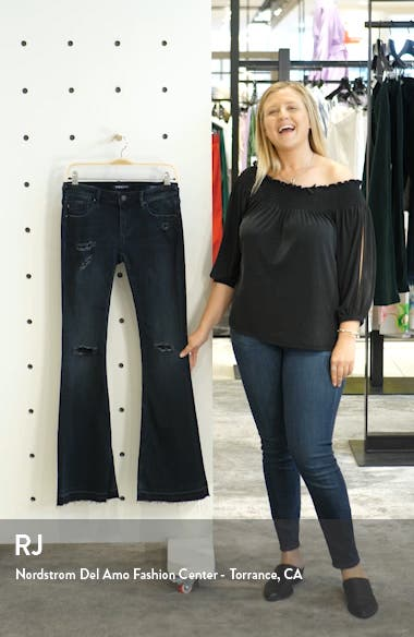 'Boho Flare' Destroyed Jeans, sales video thumbnail