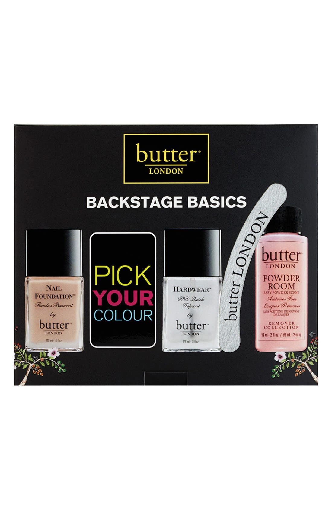 'Backstage Basics' Customizable Set, Main, color, 000