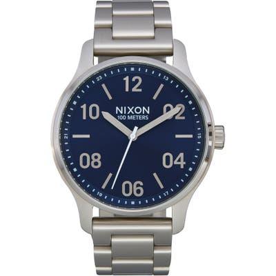 Nixon Patrol Bracelet Watch, 4m