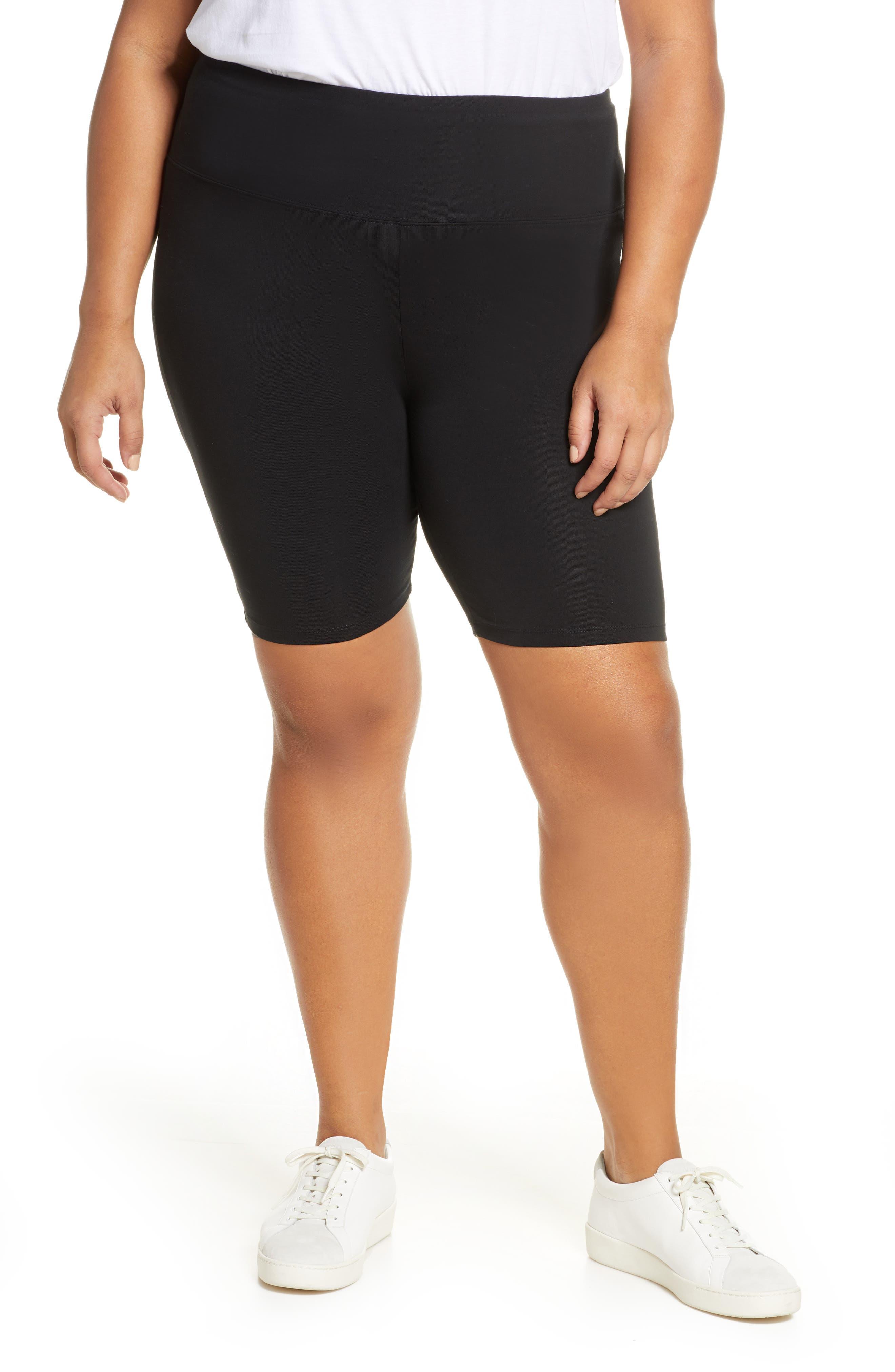 Plus Women's BP. High Waist Bike Shorts