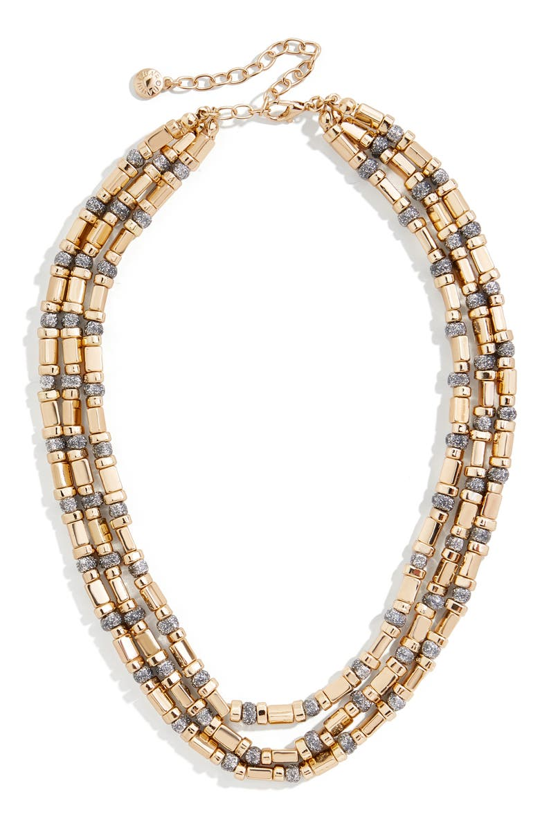 BAUBLEBAR Cailyn Layered Chain Necklace, Main, color, GOLD