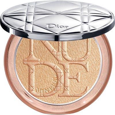 Dior Diorskin Nude Luminizer Shimmering Glow Powder - 03 Gloden Glow