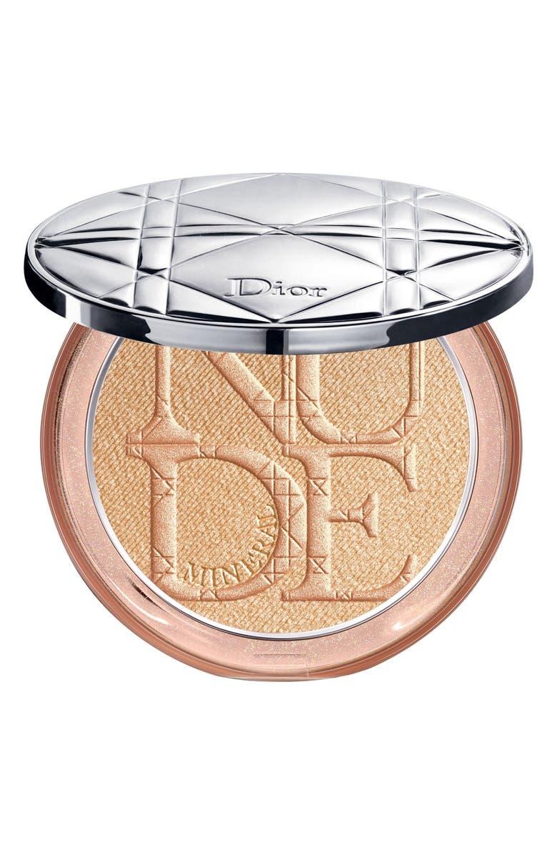DIOR Diorskin Nude Luminizer Shimmering Glow Powder, Main, color, 03 GLODEN GLOW