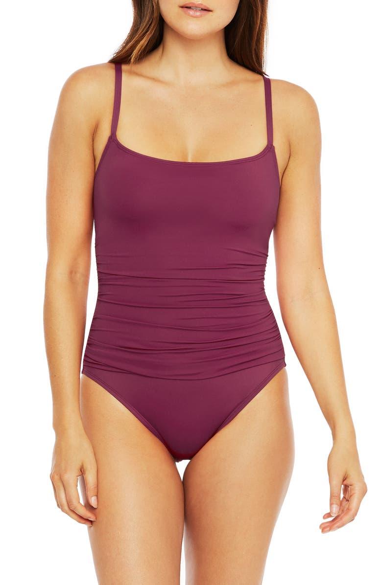 LA BLANCA Island Goddess One-Piece Swimsuit, Main, color, 930