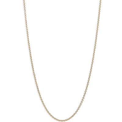 Bony Levy 14K Gold Rolo Chain Necklace (Nordstrom Exclusive)